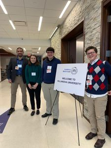 West Virginia University public administration students compete at national policy simulation contest.