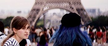French students study abroad in Paris