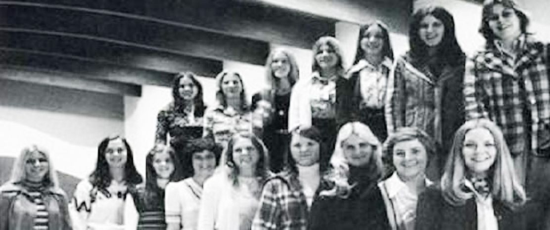 West Virginia University First Women's Swimming Team (1974-1975)