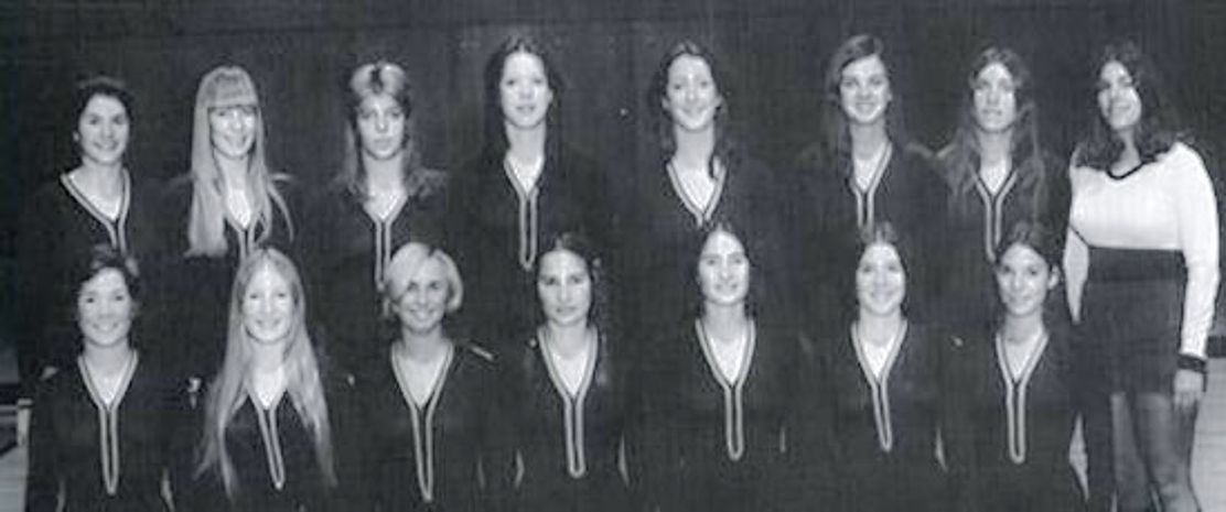 West Virginia University First Women's Gymnastics Team (1973-1974)