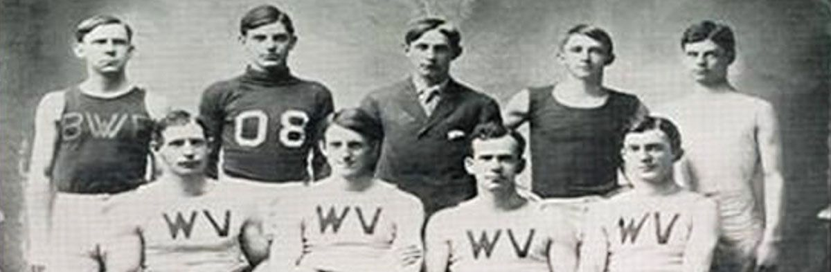 West Virginia University Men Track and Field Team (1908)