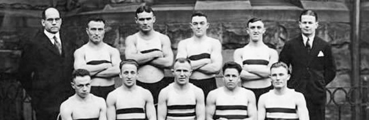 West Virginia University First Wrestling Team (1921)