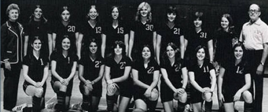 West Virginia University First Women's Basketball Team (1973-1974)