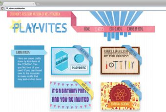 Play-Vites web page design
