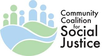 logo proposal for Community Coalition for Social Justice