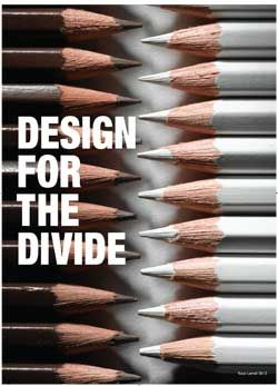 poster for Designing for the Divide Conference