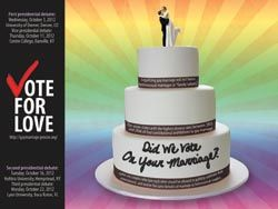 Did We Vote on Your Marriage? Get out the vote poster