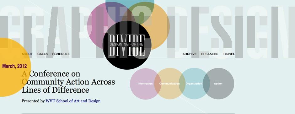 graphic for Designing for the Divide Conference