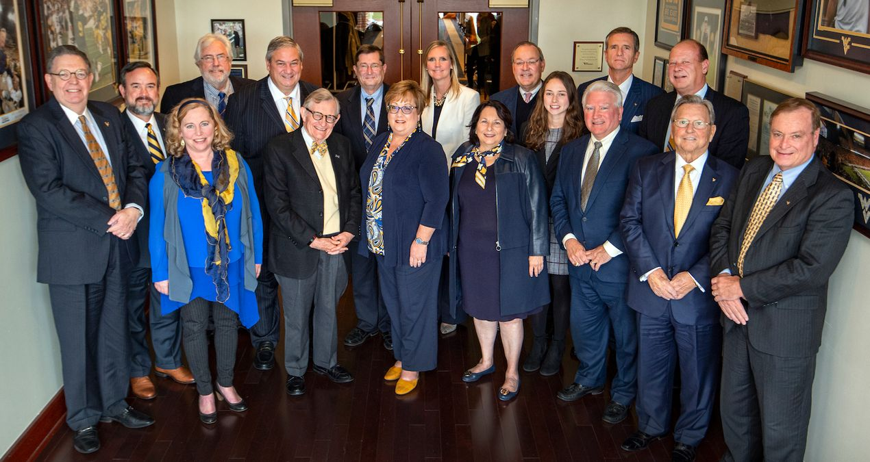 Group photo of West Virginia University's Board of Governors.