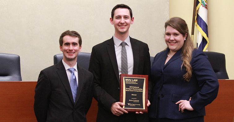 2016 Energy Moot Court Winners Washington and Lee