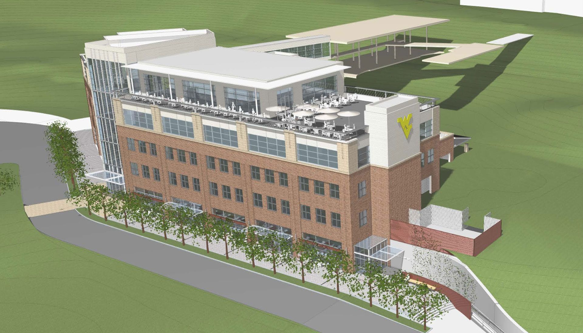 Rendering of Evansdale Crossing