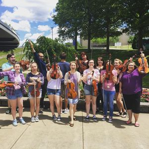 Group of students at viola bootcamp