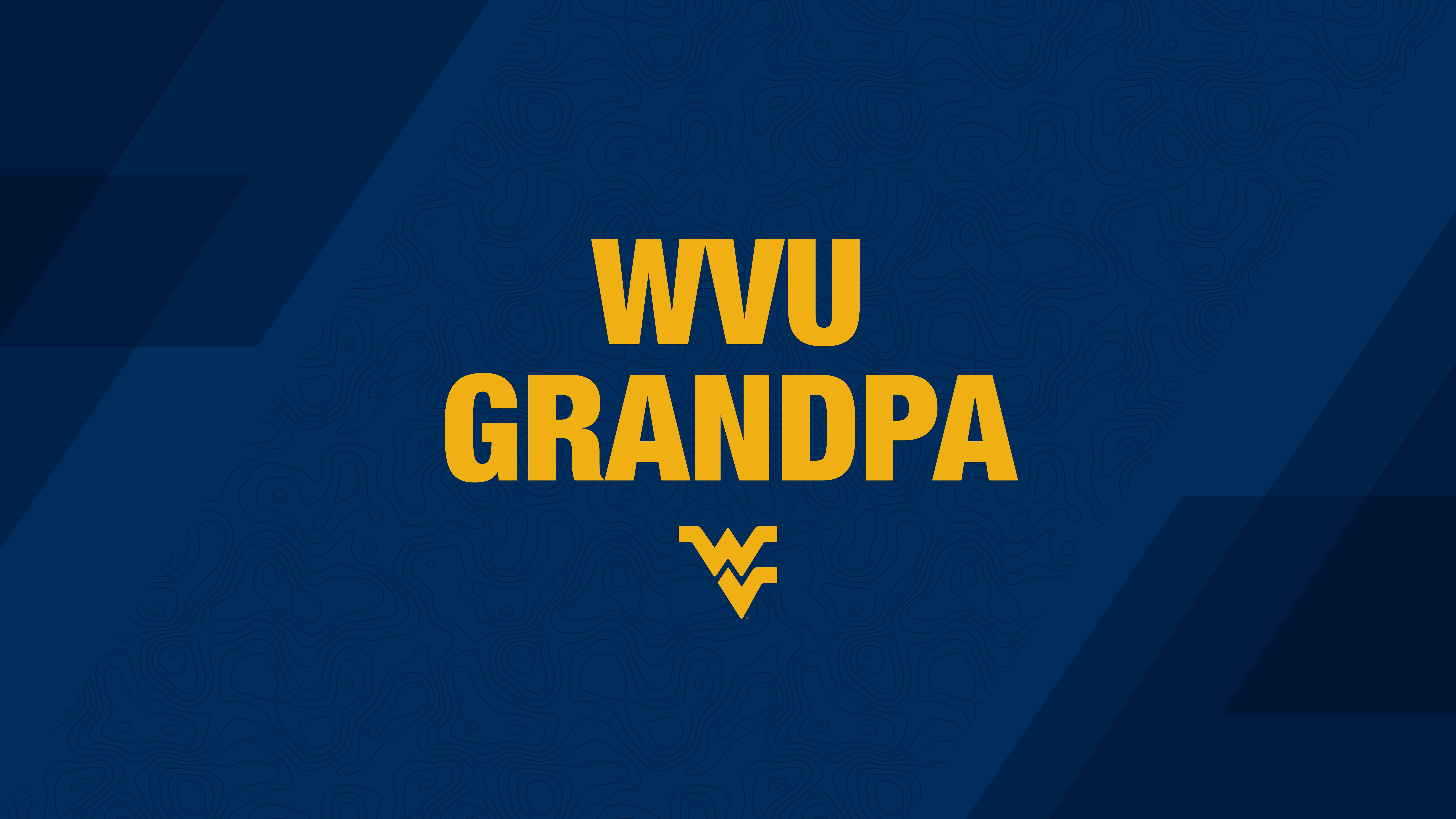 WVU Grandpa PC or tablet wallpaper