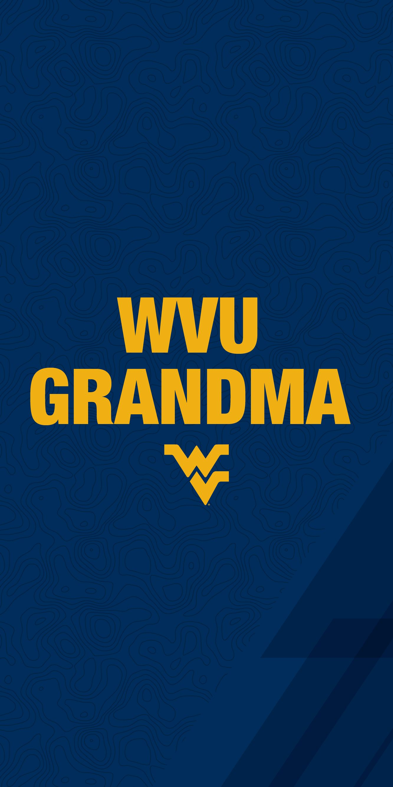 WVU Grandma mobile wallpaper