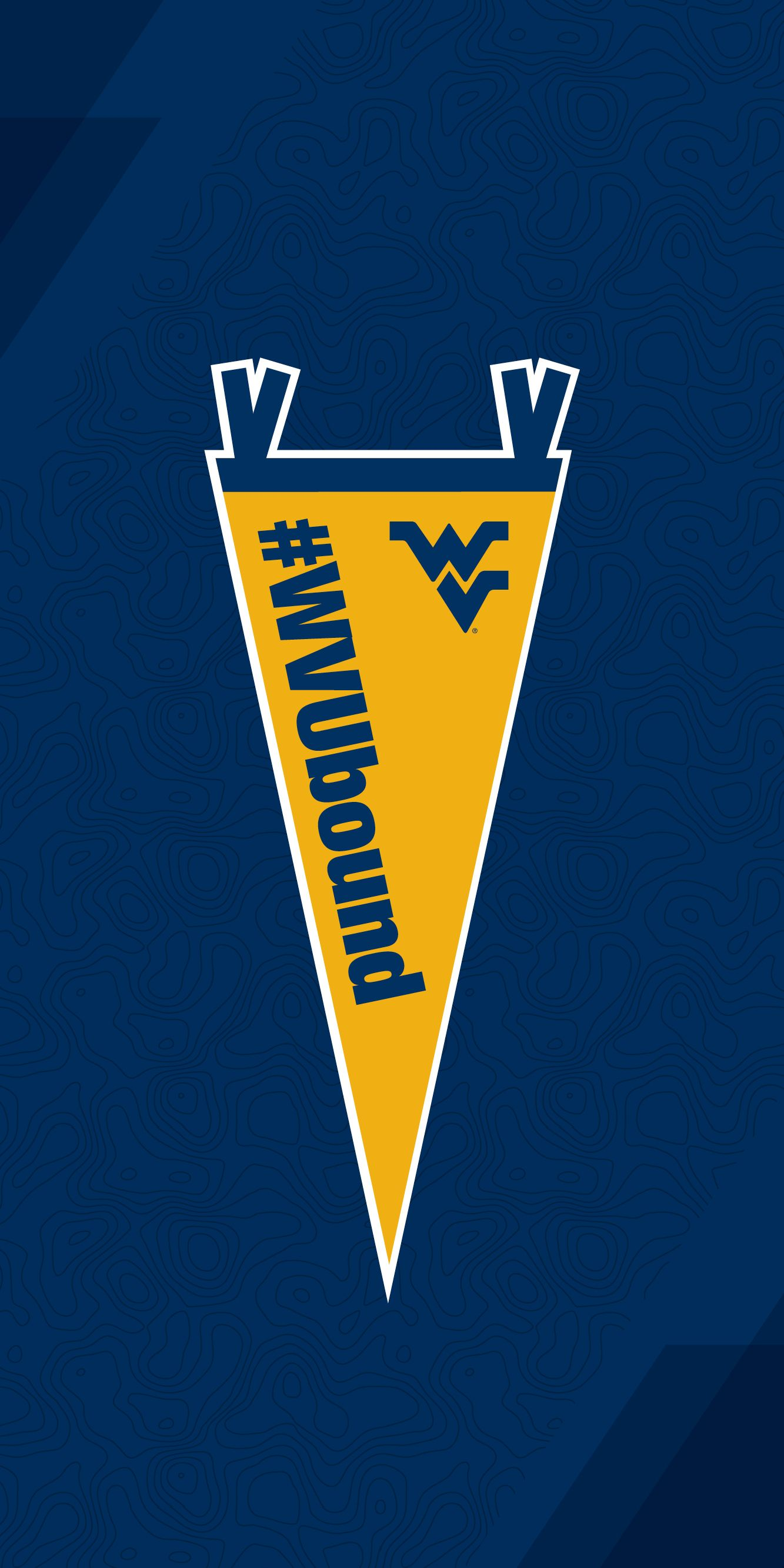 WVU Bound mobile wallpaper