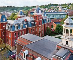 West Virginia University downtown campus.