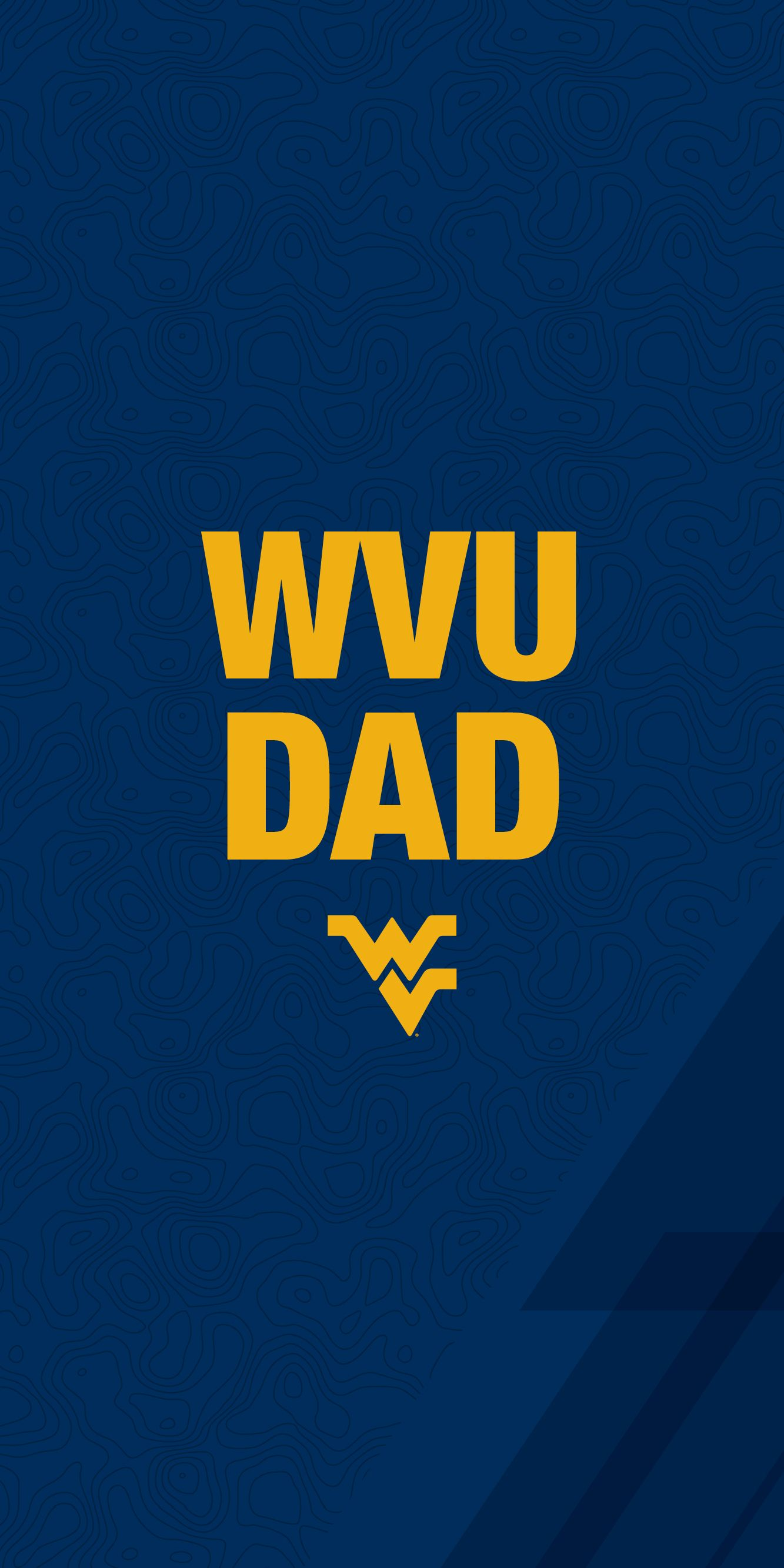 WVU Dad mobile wallpaper