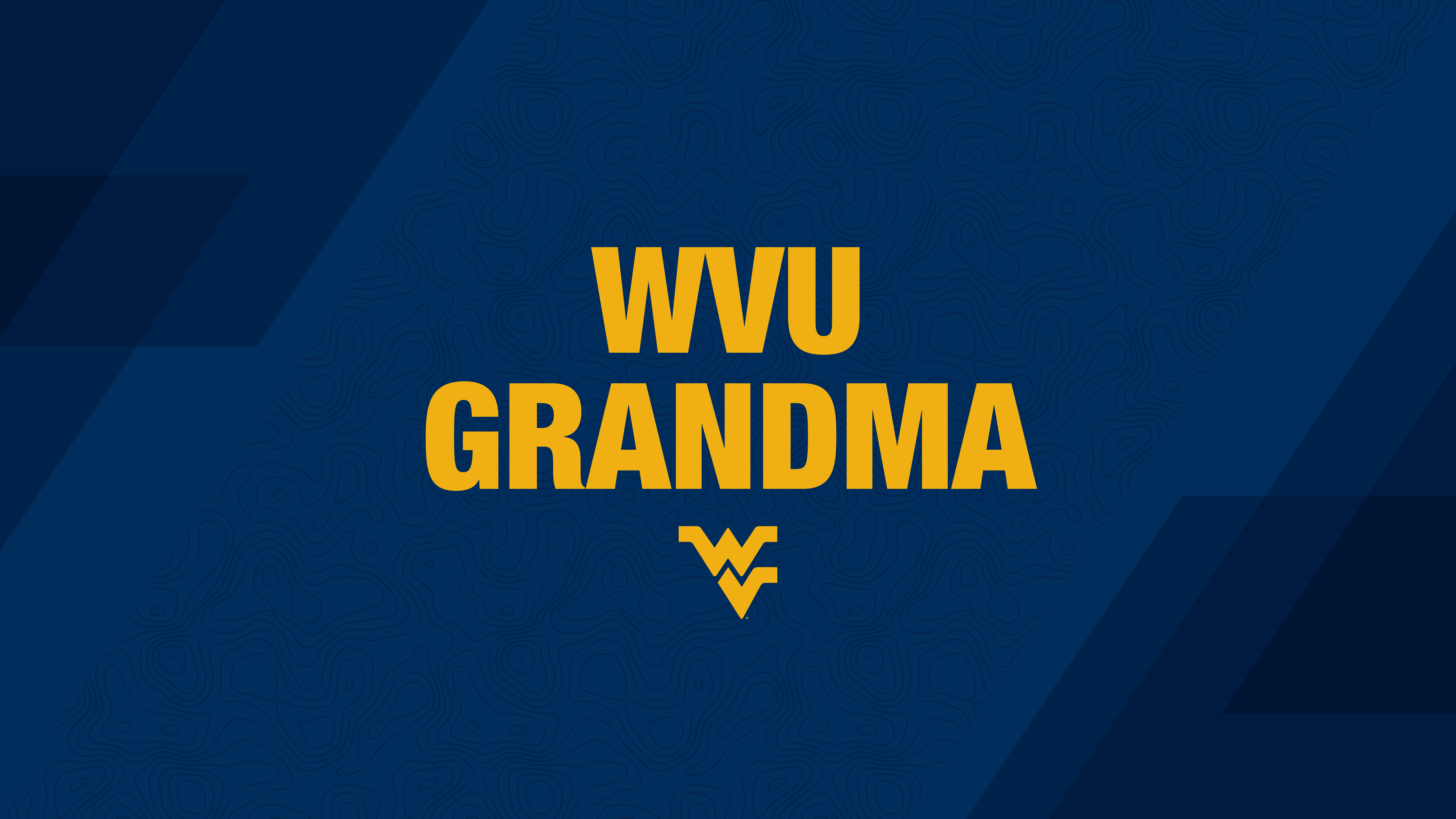 WVU Grandma PC or tablet wallpaper