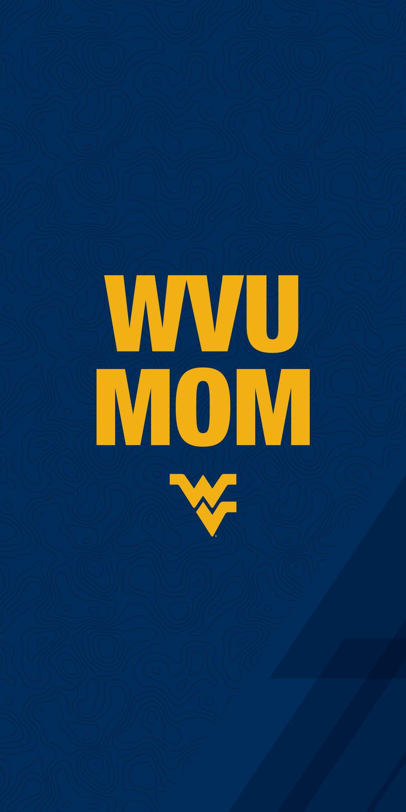 WVU Mom mobile wallpaper