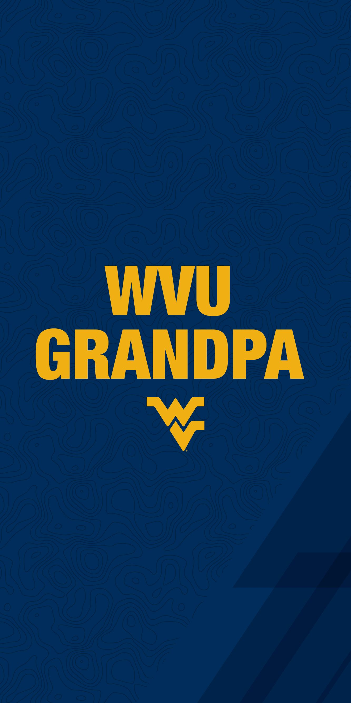 WVU Grandpa mobile wallpaper