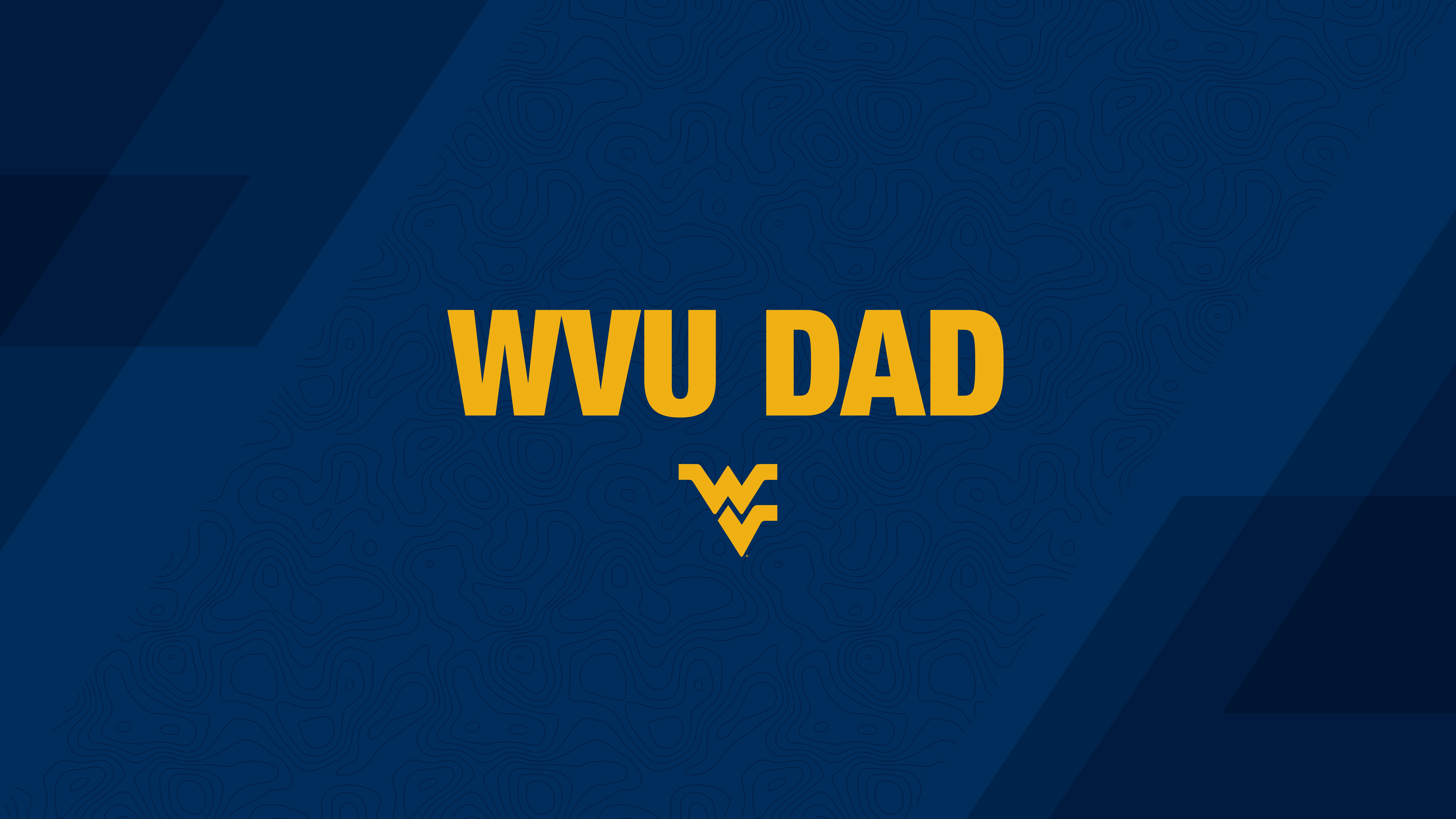 WVU Dad PC or tablet wallpaper