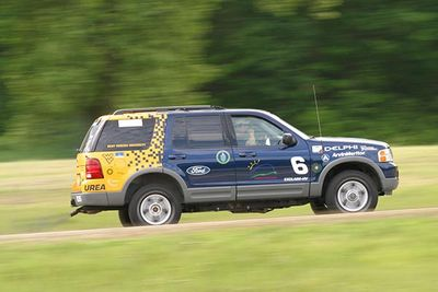 The WVU EcoCAR team's FutureTruck