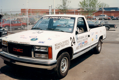 WVU's Natural Gas Vehicle Challenge truck