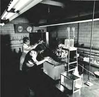 Students in the Operations Lab
