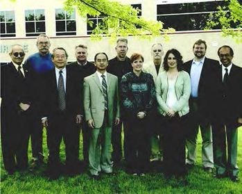 Chemical Engineering Staff — April 2012 Left to Right: Dadyburjor, Kugler, R.Yang, Turton, Y.Yang, Kinke, Rogers, Stinespring, Hissam, Anderson and Gupta No Pictured: Dinu, Shaeiwitz, Zondlo