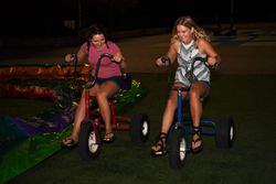 Riding Super Trikes at WVUp All Night
