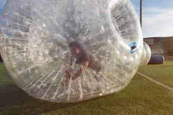 Rolling in the zorb