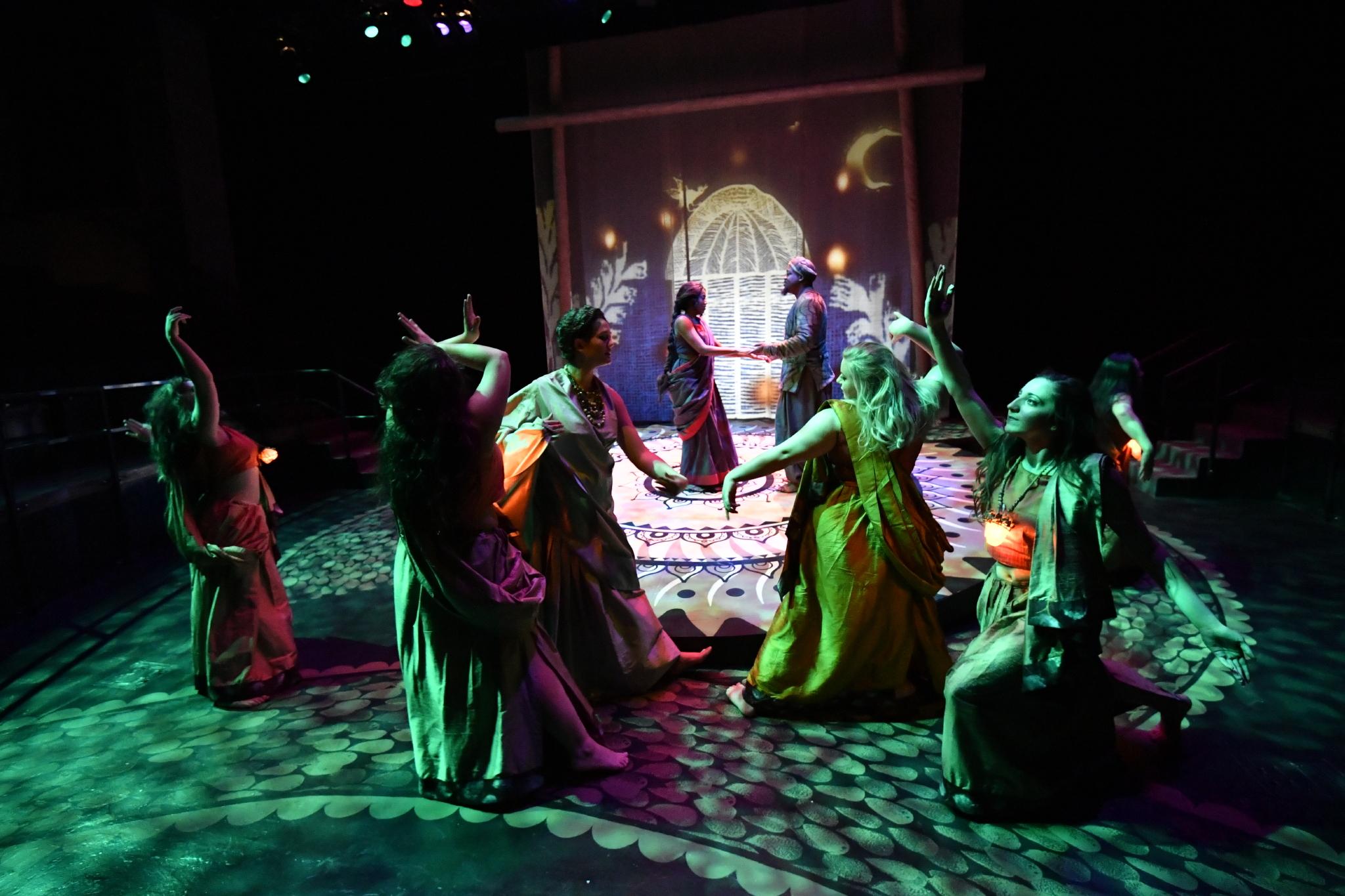 scene from Naga Mandala