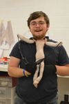 Puppetry and creative dramatics major Jack Berberette