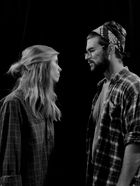 "Actors Katie Smith and Brandon Russi perform in ""Fool for Love"" by Sam Shepard"