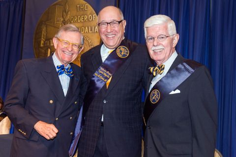 President Gee, John Fisher and Jack Bowman