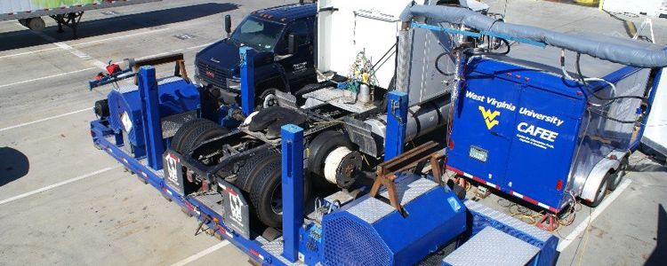 mobile heavy duty chassis dynamometer