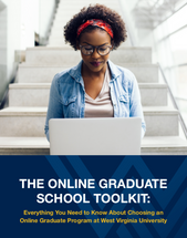 The Online Graduate School Downloadable Toolkit Cover Page