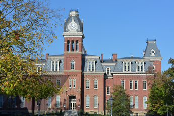 Image of Woodburn building on WVU's campus.