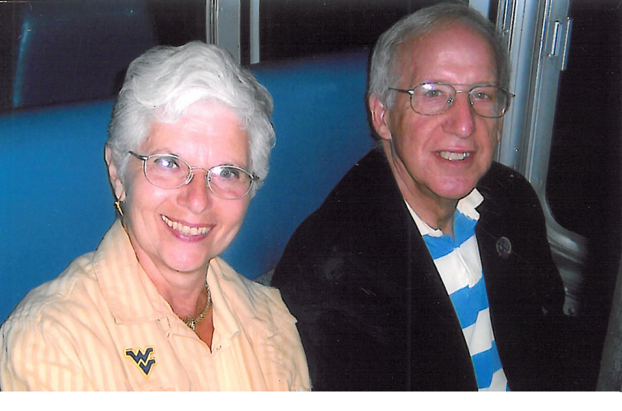 Photo of Dr. Judith Gold Stitzel with Dr. Robert E. Stitzel