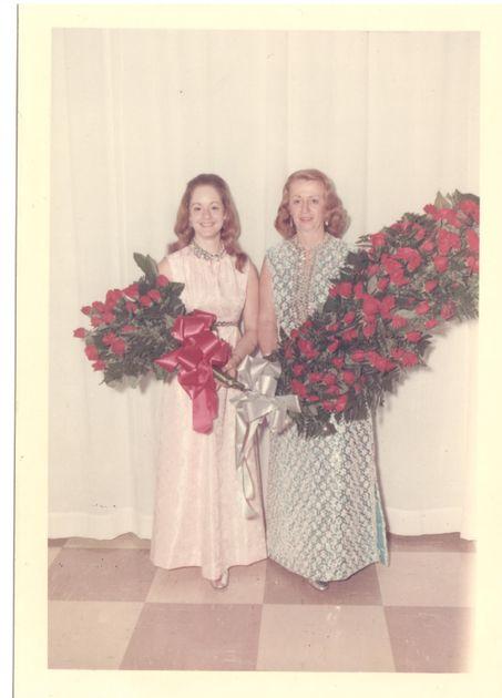 Debbie West and Virginia Chittum
