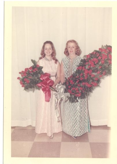 Debbie West and Virginia Chittum