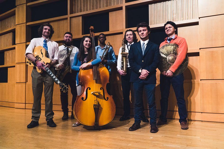 WVU Jazz Students