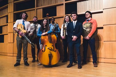 WVU Jazz Students