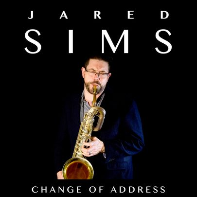 Jared Sims - Change of Address cover