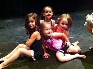 Students in the Young Dance Academy