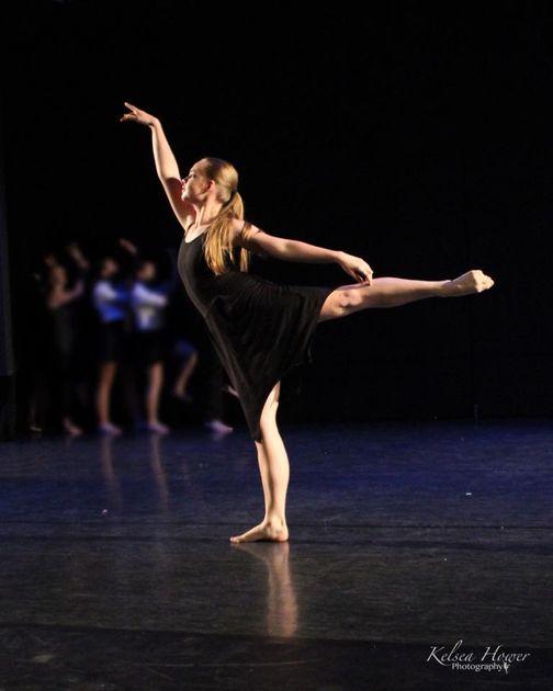 WVU Dance Student