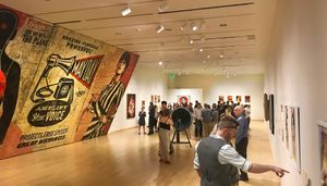 Shepard Fairey Exhibition
