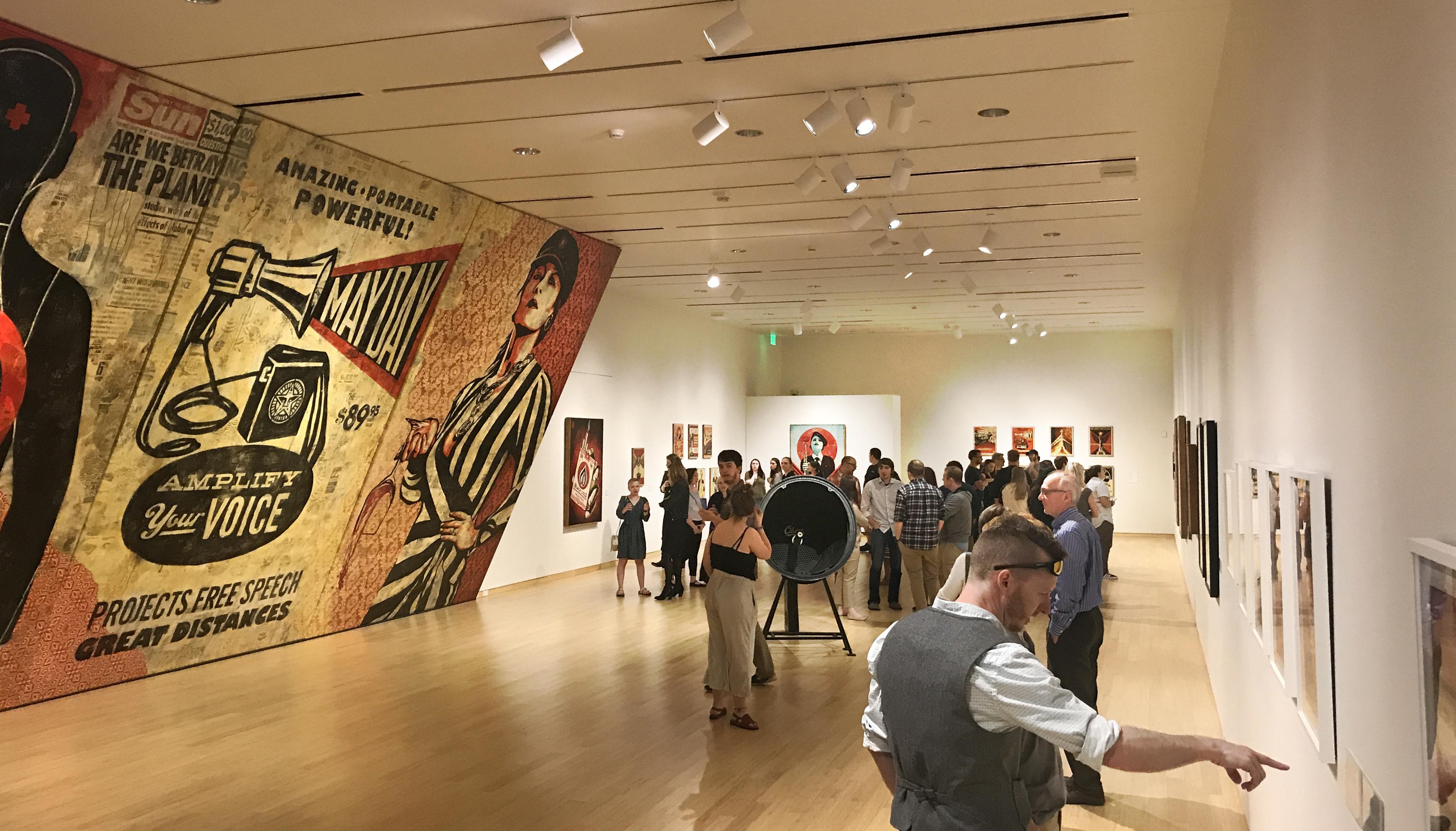 Shepard Fairey Exhibition