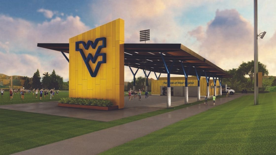 WVU Pride Practice Facility rendering
