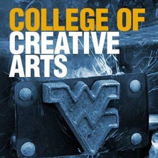 College of Creative Arts type with Flying WV Logo